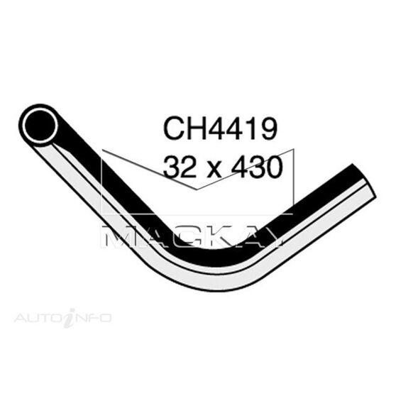 Radiator Upper Hose  - MERCEDES BENZ 240D W115 - 2.4L I4  DIESEL - Manual & Auto, , scaau_hi-res