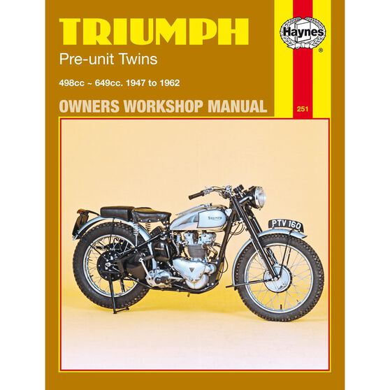 TRIUMPH PRE-UNIT TWINS 1947 - 1962, , scaau_hi-res