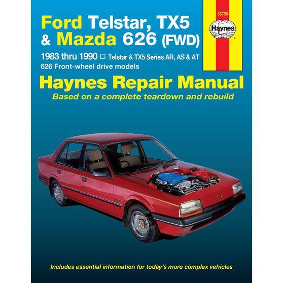 FORD/MAZDA TELSTAR & MAZDA 626 1983-1990, , scaau_hi-res