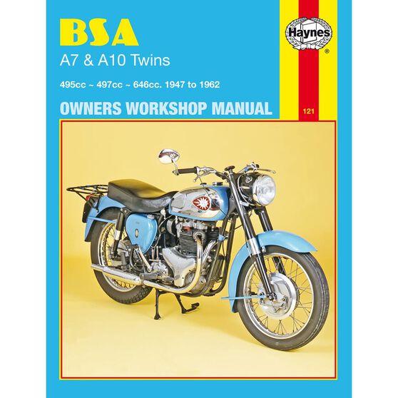 BSA A7 & A10 TWINS 1947 - 1962, , scaau_hi-res