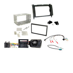 INSTALL KIT TO SUIT MERCEDES A-CLASS W169; B-CLASS W245; VIANO; & VITO W639 (BLACK), , scaau_hi-res