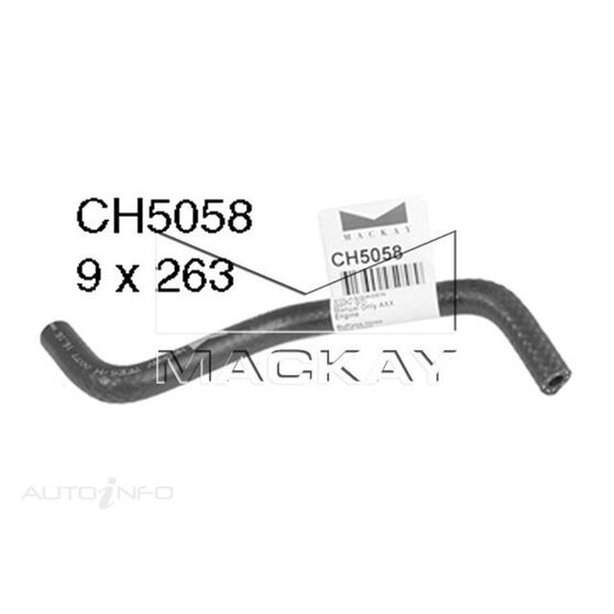 Engine By Pass Hose  - VOLKSWAGEN GOLF TYPE 5 - 2.0L I4 Turbo PETROL - Manual, , scaau_hi-res