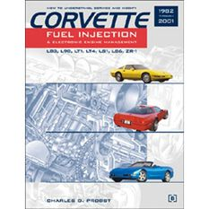 CORVETTE FUEL INJECTION & ELECTRONIC ENGINES 9780837602103, , scaau_hi-res