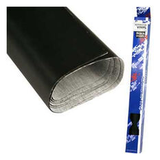 .7 X 2M MINI ROLL BLACK VINYL, , scaau_hi-res