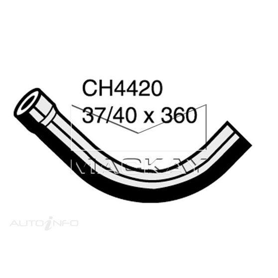 Radiator Upper Hose  - MERCEDES BENZ 300D W123 - 3.0L I5  DIESEL - Manual & Auto, , scaau_hi-res