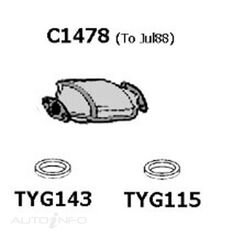 TY COROLLA AE95 7/88 CAT CONV