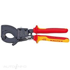 KNIPEX 1000V CABLE CUTTERS 250MM, , scaau_hi-res