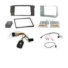 INSTALL KIT TO SUIT LANDROVER FREELANDER 2; RANGE ROVER SPORT; DISCOVERY 3 (BLACK), , scaau_hi-res