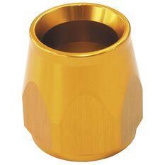 GOLD HOSE END SOCKET PTFE, , scaau_hi-res
