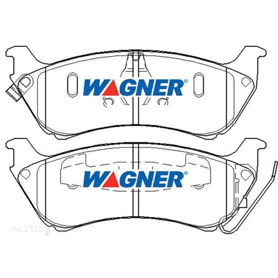 Wagner Brake pad [ Mercedes 1998-2003 R ], , scaau_hi-res