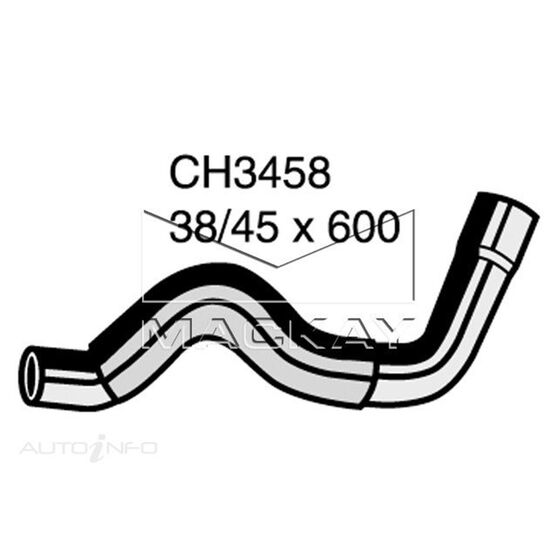 Radiator Lower Hose  - CHEVROLET C20 C20 - 5.7L V8  PETROL - Manual & Auto, , scaau_hi-res
