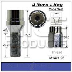 Lock Nuts (set of 4), , scaau_hi-res