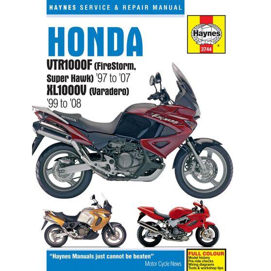 HONDA VTR1000F (FIRESTORM, SUPER HAWK) 1997 - 2007 & XL1000V (VARADERO) 1999 - 2008, , scaau_hi-res