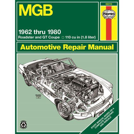 MGB HAYNES REPAIR MANUAL FOR 1962 THRU 1980 ROADSTER AND GT COUPE MODELS, , scaau_hi-res