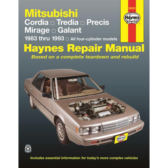 MITSUBISHI CORDIA, TREDIA, GALANT, PRECIS & MIRAGE 1983-1993, , scaau_hi-res