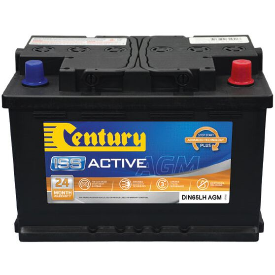 DIN65LH MF Century AGM Battery, , scaau_hi-res