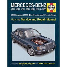 MERCEDES-BENZ 124 SERIES PETROL & DIESEL (1985 -1993), , scaau_hi-res
