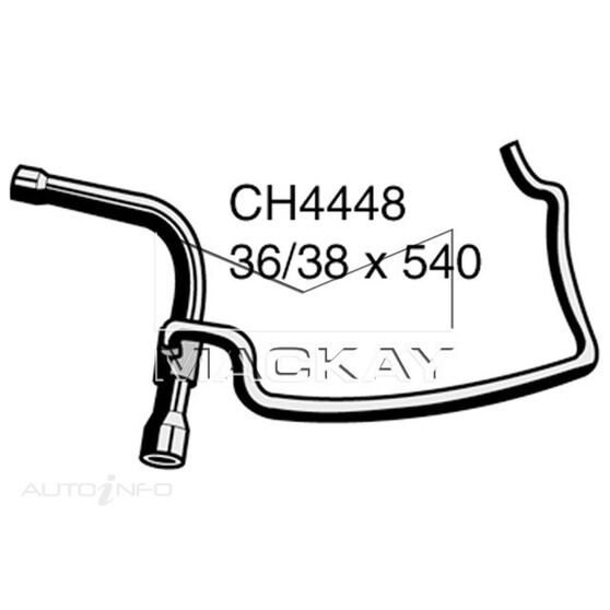 Radiator Lower Hose  - BMW 730iL E38 - 3.0L V8  PETROL - Manual & Auto, , scaau_hi-res