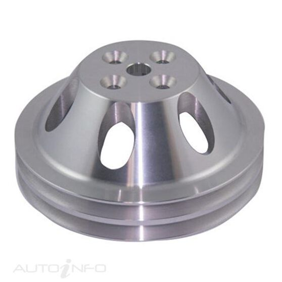 ALLOY PULLEY DBL GRV UPPER SWP