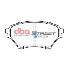 DBA SS STREET SERIES BRAKE PADS [ Mazda MX-5 1.8L 2001-2003 F ], , scaau_hi-res