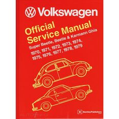SERVMAN  VW BEETLE SUPER BEETLE & KARMANN GHIA 1970-1979  9780837616230