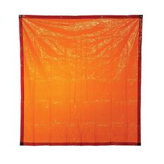 BOSSWELD 1.8MT X 2.0MT ORANGE WELDING CURTAIN, , scaau_hi-res