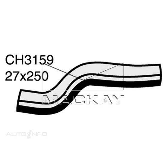 Radiator Lower Hose  - NISSAN SENTRA N13 - 1.3L I4  PETROL - Manual & Auto, , scaau_hi-res
