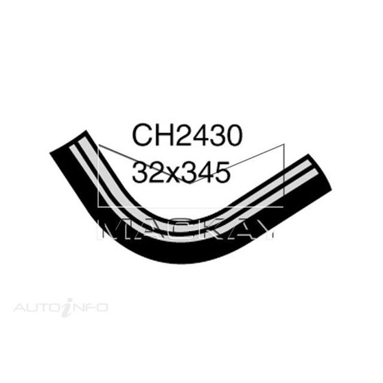 Radiator Upper Hose  - TOYOTA STOUT RK101R - 2.0L I4  PETROL - Manual & Auto, , scaau_hi-res