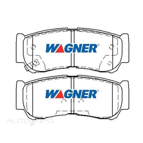 Wagner Brake pad [ Hyundai Sante Fe 2006-2009 R ], , scaau_hi-res