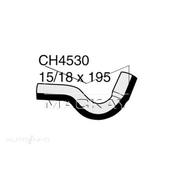 Engine Oil Cooler - Coolant Hose FORD Territory SY 4.0 Litre (6Cyl) Inlet*, , scaau_hi-res
