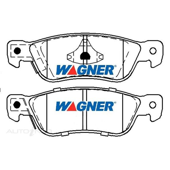 Wagner Brake pad [ Holden & Isuzu 1987-93 R ], , scaau_hi-res