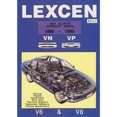 WSHOPMAN  LEXCEN VN VP 1988-1993 9780646147017
