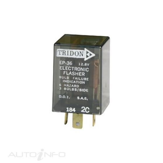 FLASHER 12V 3PIN OUTAGE BLISTER (EA), , scaau_hi-res