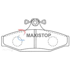 MAXISTOP DBP (R) HSV VN-VT1 88-99, FPV AU11-AU111 00-02, AURION TRD 07-09