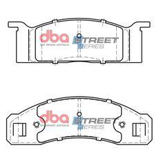 DBA SS STREET SERIES BRAKE PADS [ Ford Mustang/Fairlane/Falcon 1965 - 1979 F ], , scaau_hi-res