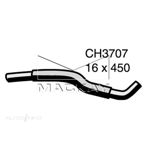 Heater Hose HONDA PRELUDE     2.0 Litre   Outlet (Left Hand Drive Applications Only), , scaau_hi-res