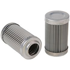 AEROMOTIVE 100 MICRON S/LESS ELEMENT FOR -10 ORB FILTERS