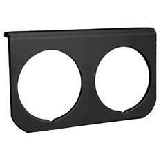 2-HOLE GAUGE PANEL BLACK, , scaau_hi-res