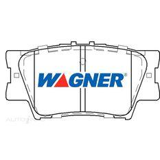 Wagner Brake pad [ Toyota 2006-2014 R ], , scaau_hi-res