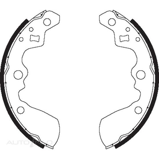 BENDIX BRAKE SHOES, , scaau_hi-res