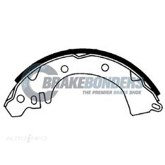 Brake Shoes - Mitsubishi 203.2mm, , scaau_hi-res