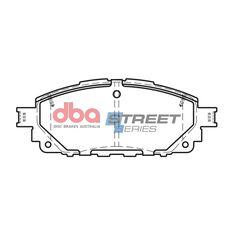 DBA SS STREET SERIES BRAKE PADS [ Toyota Hi Lux / 2016-> F ], , scaau_hi-res