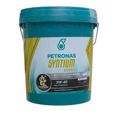 SYNTIUM 5000 E 5W40 18 LITRE ENGINE OIL PLASTIC DRUM, , scaau_hi-res