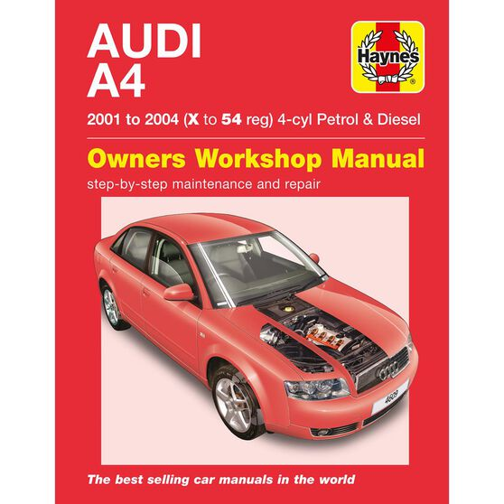 AUDI A4 PETROL & DIESEL (2001 - 2004), , scaau_hi-res