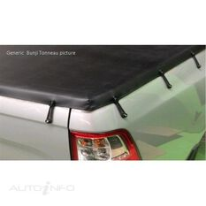 NAVARA DUAL CAB 4WD STR D22 WITHOUT FACTORY SPORTS BAR, BUNJI UTE TONNEAU COVER, , scaau_hi-res