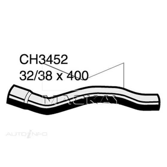Top Hose CHEVROLET /GMC Caravan    3.3 & 3.8 Litre  *, , scaau_hi-res