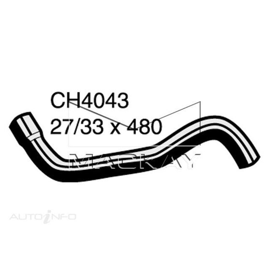 Radiator Lower Hose  - NISSAN PULSAR N15 - 1.6L I4  PETROL - Manual & Auto, , scaau_hi-res