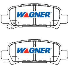 Wagner Brake pad [ Subaru 1997-2003 R ], , scaau_hi-res