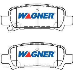 Wagner Brake pad [ Subaru 1997-2003 R ]
