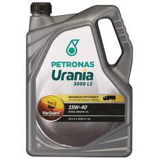 URANIA 3000 LS 15W40 5 LITRE DIESEL ENGINE OIL PLASTIC  BOTTLE, , scaau_hi-res